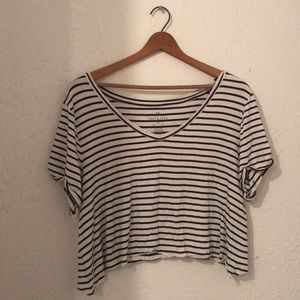 Super slinky and slouchy crop top